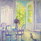 Картины и панно handmade. Livemaster - original item Oil painting on canvas. Morning in Provence.. Handmade.