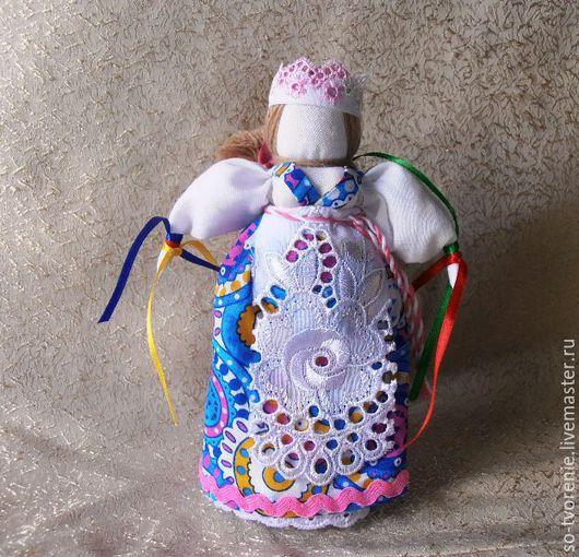 """Народные куклы ручной работы. Ярмарка Мастеров - ручная работа. Купить Кукла-оберег """"Желанница"""". Handmade. Разноцветный, славянский оберег"""