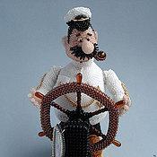 Куклы и игрушки ручной работы. Ярмарка Мастеров - ручная работа Капитан Врунгель. Handmade.