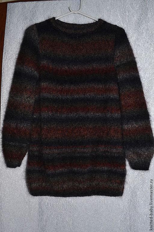 Кофты и свитера ручной работы. Ярмарка Мастеров - ручная работа. Купить Джемпер женский удлиненный. Handmade. Вязание для женщин, свитера