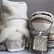 """Куклы и игрушки ручной работы. Ярмарка Мастеров - ручная работа """"Крупеничка и Богач"""". Handmade."""