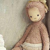 Куклы и игрушки ручной работы. Ярмарка Мастеров - ручная работа Анфиска. Обезьянка тедди. Мишки тедди. Друзья тедди.. Handmade.