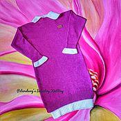 Одежда handmade. Livemaster - original item Sweater dress for girls. Handmade.