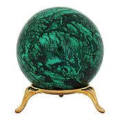 Фен-шуй и эзотерика ручной работы. Ярмарка Мастеров - ручная работа Малахитовый шар. Handmade.