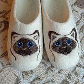 Обувь ручной работы. Ярмарка Мастеров - ручная работа Тапкозверь. Собаки. Кошки. Мишки.. Handmade.