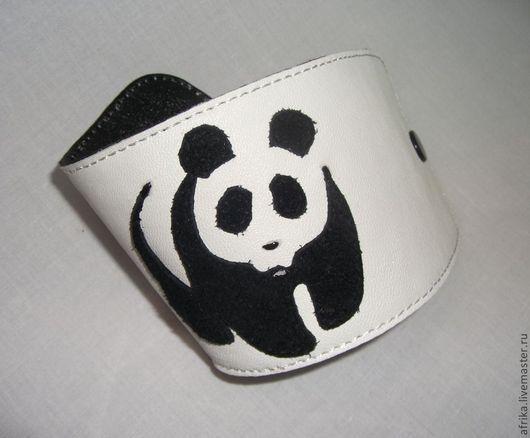 """Браслеты ручной работы. Ярмарка Мастеров - ручная работа. Купить Браслет """"Панда"""". Handmade. Панда, авторский браслет"""