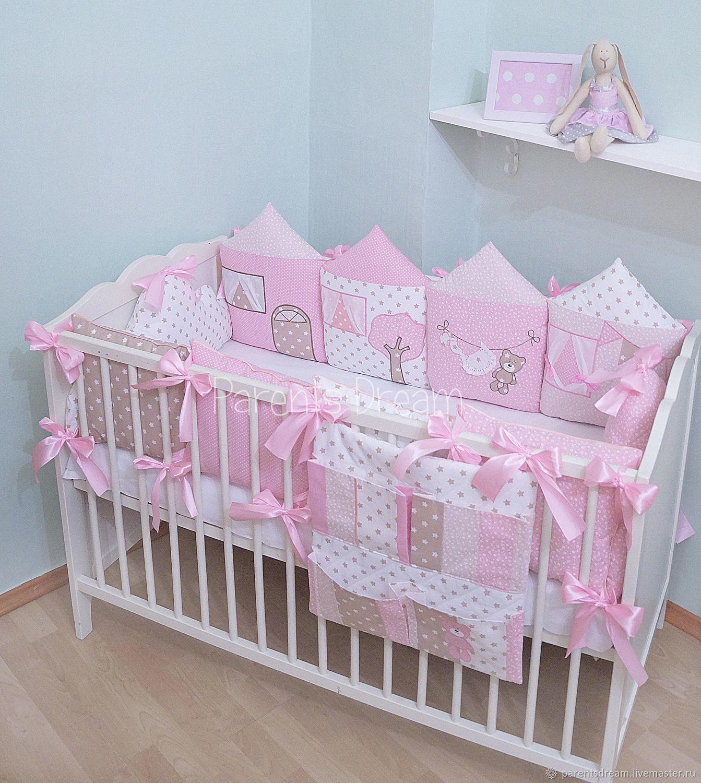 Бортики в кроватку, Для новорожденных, Санкт-Петербург, Фото №1