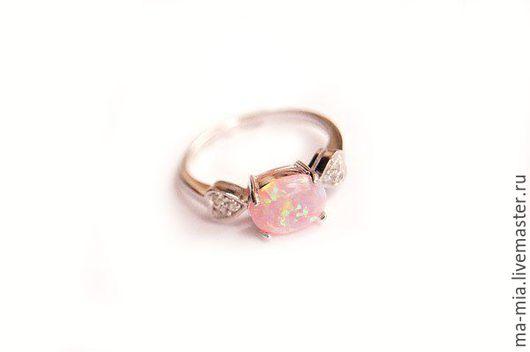 Кольца ручной работы. Ярмарка Мастеров - ручная работа. Купить кольцо Для Любимой.Опал. Handmade. Кольцо ручной работы