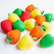 Кукольная еда ручной работы. Ярмарка Мастеров - ручная работа Перец из фетра овощи из фетра. Handmade.