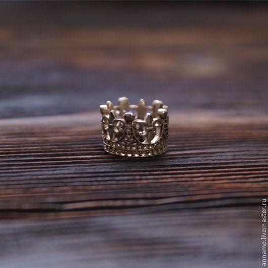 """Кольца ручной работы. Ярмарка Мастеров - ручная работа. Купить Фаланговое кольцо """"Королевна"""". Handmade. Серебряный, фаланговые кольца, украшение"""
