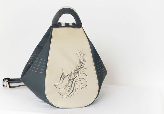 Женские сумки ручной работы. Ярмарка Мастеров - ручная работа. Купить Женская сумка. Handmade. Серый, сумка с декором