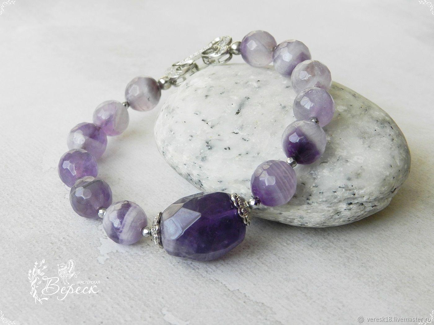 Lavender Amethyst Jewelry Set, Jewelry Sets, Izhevsk,  Фото №1
