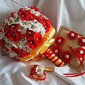 Свадебный салон ручной работы. Ярмарка Мастеров - ручная работа свадебный набор из фетра. Handmade.