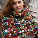 Shawls & Warm Stoles handmade. Livemaster - handmade. Buy Shawl crochet' Poppy field' based on the paintings To. Mone option 1.
