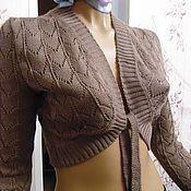 Одежда ручной работы. Ярмарка Мастеров - ручная работа Болеро вязаное ажурное. Handmade.