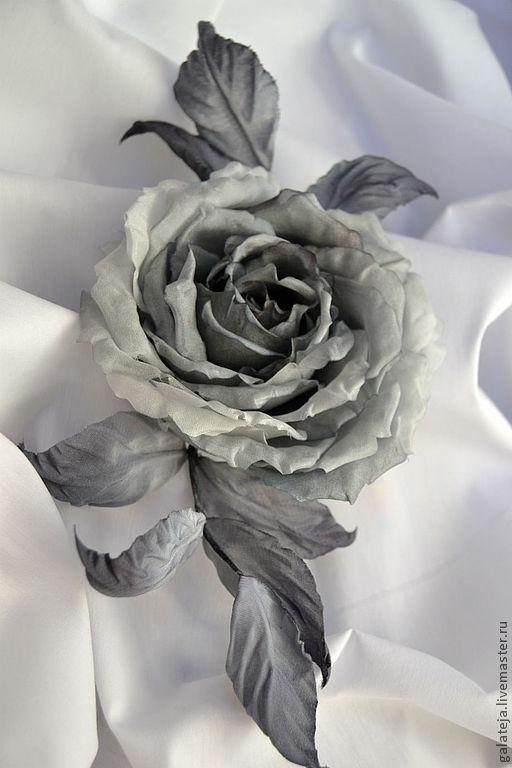 Silk flowers rose brooch london shop online on livemaster with silk flowers rose brooch london silk extravaganza online shopping on my mightylinksfo