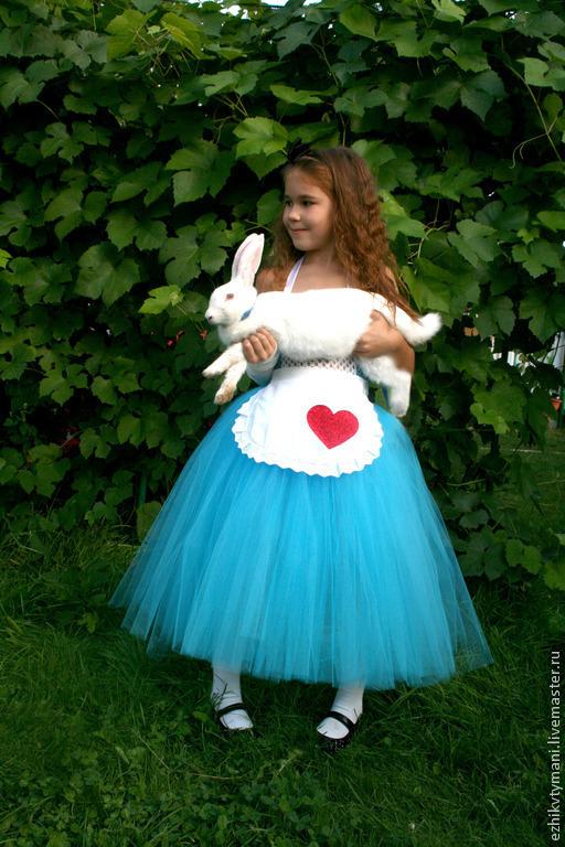 Платье алисы своими руками