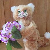 Stuffed Toys handmade. Livemaster - original item Cat Ginger honey. Handmade.