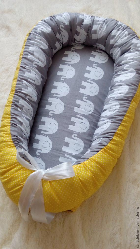 Кокон для новорожденных своими руками фото