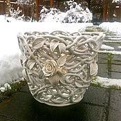 Цветы и флористика handmade. Livemaster - original item Planters Marshmallows. Handmade.