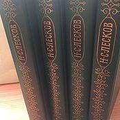 Винтаж ручной работы. Ярмарка Мастеров - ручная работа Н.С.Лесков 12 томов. Handmade.