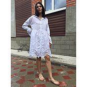 Платье-рубашка из итальянского шитья