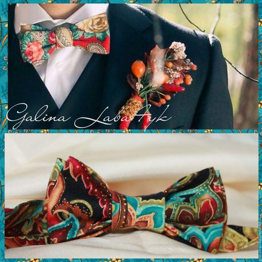 Галстуки, бабочки ручной работы. Ярмарка Мастеров - ручная работа. Купить Шикарная, двойная бабочка галстук на свадьбу,выпускной. Handmade.