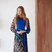 """Одежда ручной работы. Ярмарка Мастеров - ручная работа Платье """"Синие Море"""". Handmade."""