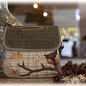 Сумки и аксессуары handmade. Livemaster - original item Japanese handbag Sly Fox. Handmade.