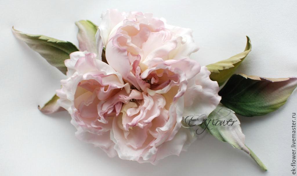 Fabric flowers silk flowers rose anelia shop online on rose flowers handmade fabric flowers silk flowers rose anelia mightylinksfo