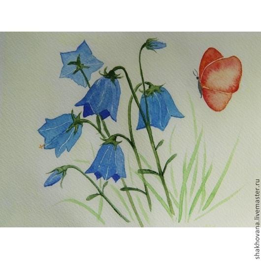 Картины цветов ручной работы. Ярмарка Мастеров - ручная работа. Купить Простодушие. Handmade. Лето, букет, цветы, полевые цветы