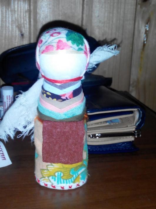 Народные куклы ручной работы. Ярмарка Мастеров - ручная работа. Купить Оберег на удачное замужество. Handmade. Разноцветный, на удачу, замужество