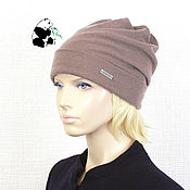 Аксессуары handmade. Livemaster - original item Youth women`s cap made of Italian fabric. A few colors. Handmade.