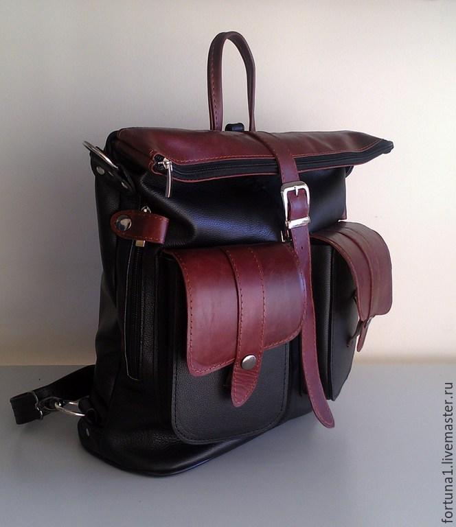 Backpack-leather bag 9, Backpacks, St. Petersburg,  Фото №1