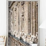 Картины и панно ручной работы. Ярмарка Мастеров - ручная работа Фотография Архитектура Парижа, Лувр Фото «Любопытная», бежевый. Handmade.