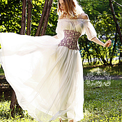 """Одежда ручной работы. Ярмарка Мастеров - ручная работа Юбка """"Дыхание лета"""". Handmade."""