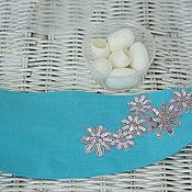 Сувениры и подарки handmade. Livemaster - original item Gift set:headband and silk cocoons. The Secret Of Beauty. Handmade.