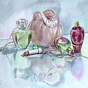 Картины и панно ручной работы. Ярмарка Мастеров - ручная работа Будуарный натюрморт. Handmade.