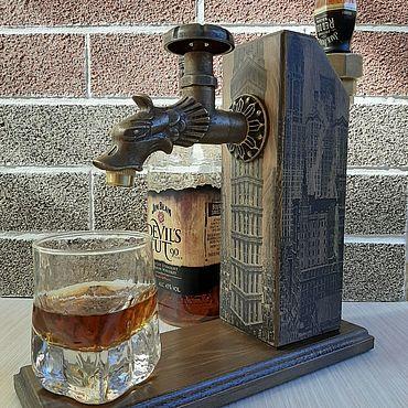 Сувениры и подарки ручной работы. Ярмарка Мастеров - ручная работа Подарок мужчине Диспенсер напитков + гейзер. Handmade.