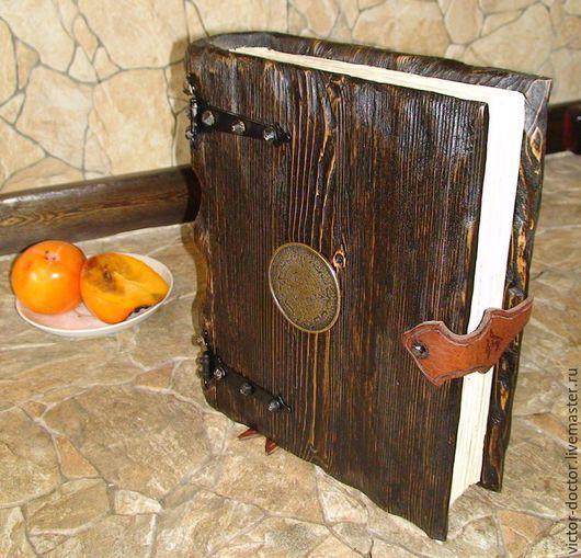 """Подарки для мужчин, ручной работы. Ярмарка Мастеров - ручная работа. Купить Ключница """" Старинная книга"""". Handmade. Коричневый"""