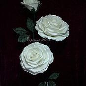 Цветы и флористика handmade. Livemaster - original item Interior Growth roses. Handmade.