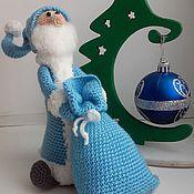 Куклы и игрушки ручной работы. Ярмарка Мастеров - ручная работа Дед Мороз с мешком подарков. Handmade.