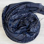 Аксессуары handmade. Livemaster - original item Blue shawl made of fabric Burberry London England. Handmade.