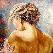 Картины и панно handmade. Livemaster - original item Oil painting Tenderness. Handmade.