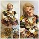 """Коллекционные куклы ручной работы. Ярмарка Мастеров - ручная работа. Купить """"Чайку пошвыркаем?!)""""грелка на самовар. Handmade. Разноцветный, бабуля, подарок"""