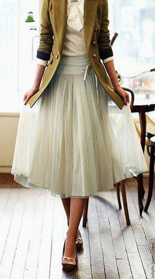 Юбки ручной работы. Ярмарка Мастеров - ручная работа. Купить юбка пачка из фатина. Handmade. Комбинированный, однотонный, юбка из фатина