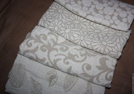 Для дома и интерьера ручной работы. Ярмарка Мастеров - ручная работа. Купить Полотенце из вареного льна 50х90 см. Handmade.