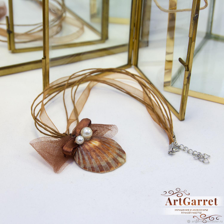 Pendant with sea shell, Pendants, Yevpatoriya,  Фото №1