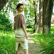 """Одежда ручной работы. Ярмарка Мастеров - ручная работа Образ """"Прекрасная незнакомка"""": юбка, топ, маечка и сумочка.. Handmade."""