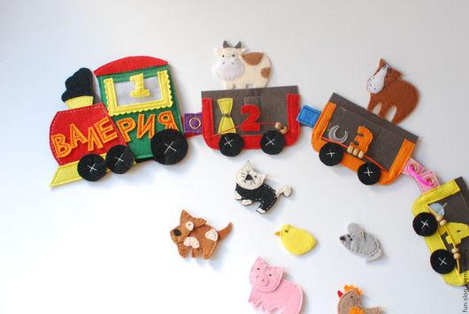 Развивающие игрушки ручной работы. Ярмарка Мастеров - ручная работа. Купить Развивающая игрушка Учимся считать. Handmade. Развивающая игрушка